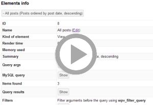 views-debugger