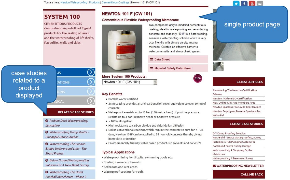 product information sheet template .