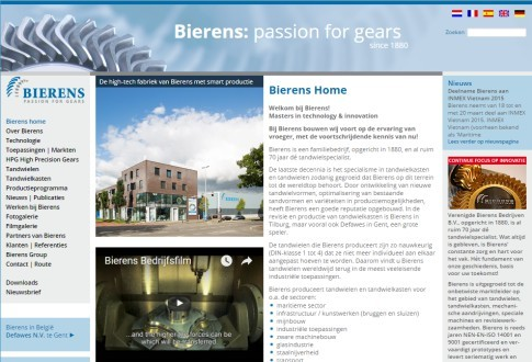 Bierens: Passion for Gears