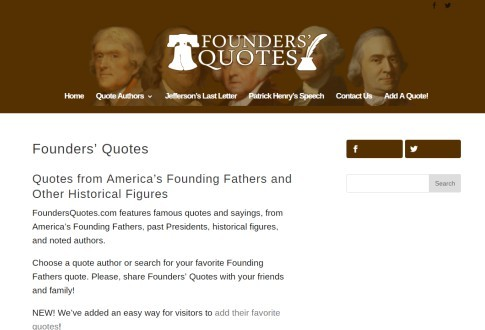 Founders Quotes