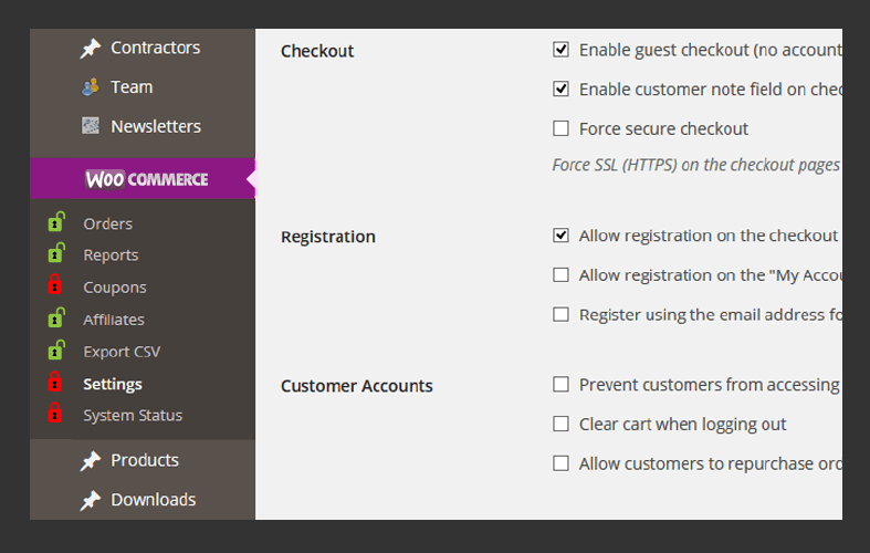 Access to WPML and WooCommerce