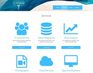 3. Services archive page