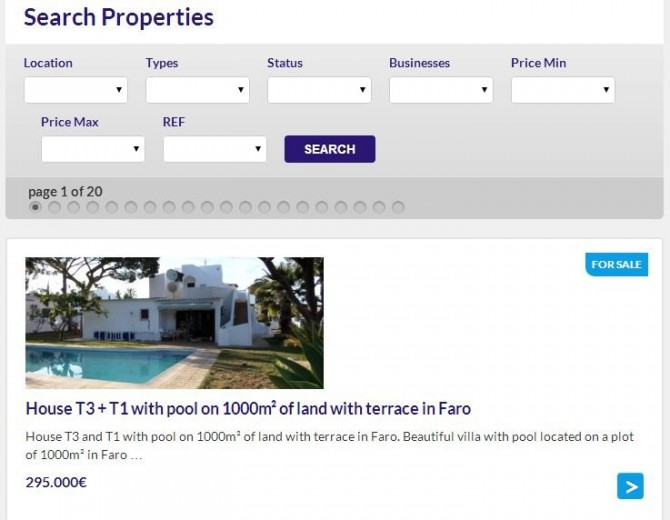 Property search on imoalk.com/search-properties/