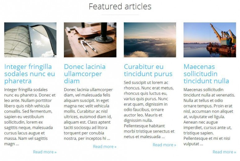 featured articles