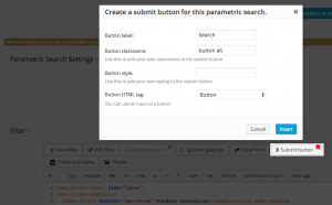 Adding a Submit button