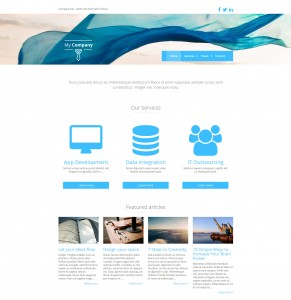 Unternehmensseite