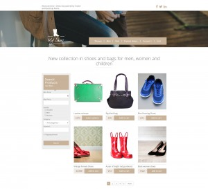 Sitio de comercio electrónico