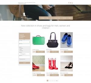 E-Commerce-Seite