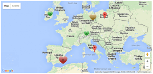 Front-end Result of Toolset Maps Clustering Customization