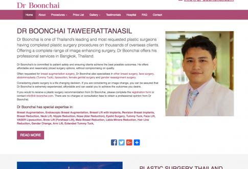 Dr Boonchai – Plastic Surgeon