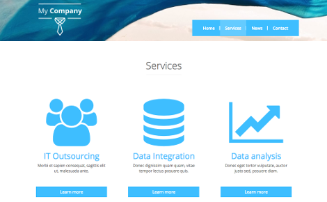 Business site