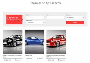 Benutzerdefinierte Suche nach Anzeigen