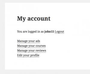 """Toolset vous permet de créer une page """"Mon compte"""" personnalisée en affichant les actifs de l'utilisateur connecté."""