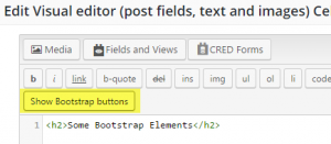 show-bootstrap-buttons
