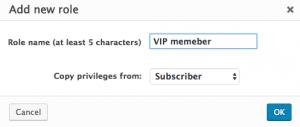 Adding a custom role using the Toolset Access plugin
