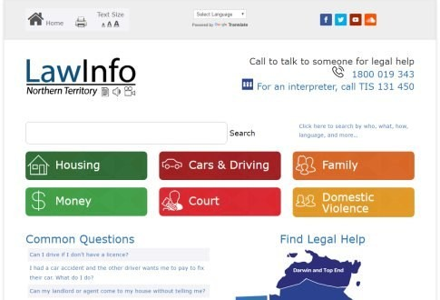 Law Info NT