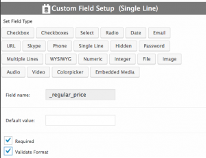 Registering the _regular_price field to make it available in CRED forms