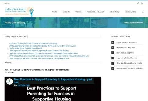 Visible Child Initiative