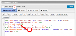 Adding a Consultant's Image to the Search Results