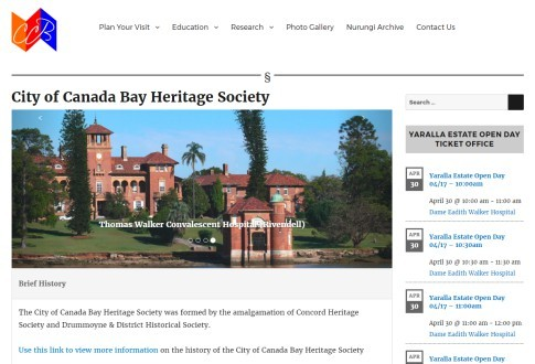 City of Canada Bay Heritage Society