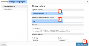 Adding custom taxonomy as a filter