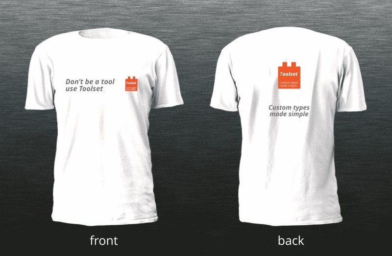 Toolset T-shirt to be awarded by lottery