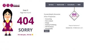 404 error page By Erdem Demirci