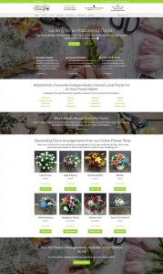 shesmyflorist.com – Home page of the website