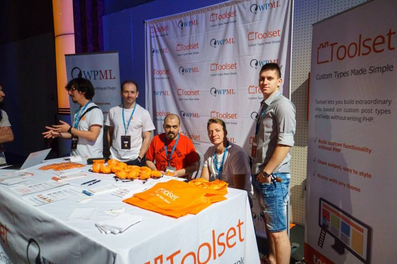 Toolset crew at WordCamp Europe